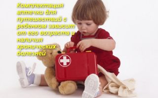 Список лекарств для аптечки в дорогу