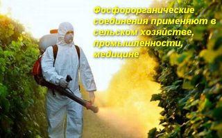 Что делать при отравлении фосфорорганическими соединениями