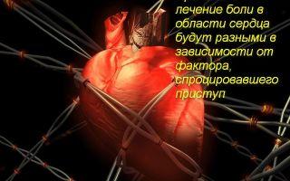 Какие лекарства принимать от боли в сердце